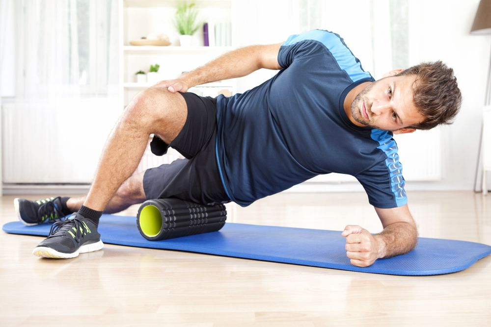 Using a Foam Roller with Chiropractic Treatment   Premier Injury Clinics of DFW